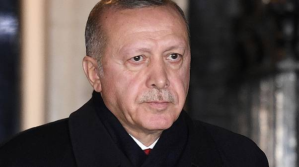 O πρόεδρος της Τουρκίας, Ρετζέπ Ταγίπ Ερντογάν