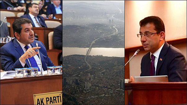 İBB Meclisi'nde Göksu ile İmamoğlu arasında Kanal İstanbul gerginliği: İhanettir, cehalettir