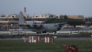 Disparition d'un avion militaire chilien