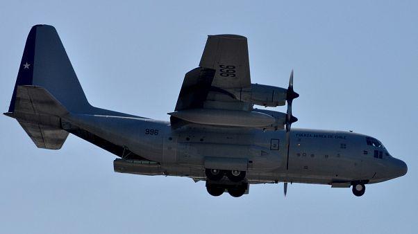 یک هواپیمای ارتش شیلی با ۳۸ سرنشین در مسیر قطب جنوب ناپدید شد