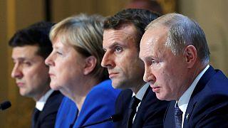 نشست پاریس؛ روسیه و اوکراین در مورد آتشبس و تبادل اسرا به توافق رسیدند