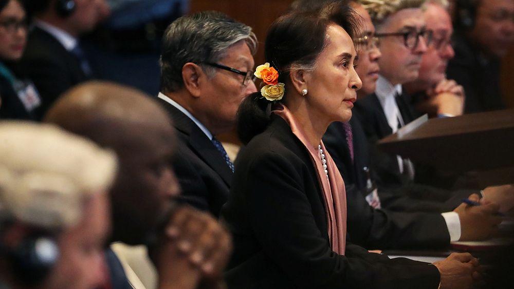 Aung San Suu Kyi speaks at the ICJ for Myanmar genocide hearing