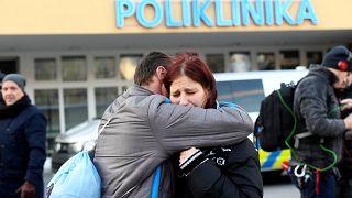 Gunman kills himself after shooting seven dead in Czech hospital
