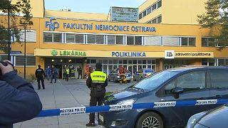 Шесть человек погибли при стрельбе в чешском городе Остраве
