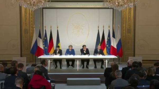 Παρίσι: «Πρόοδος» στην τετραμερή σύνοδο για την Ουκρανία