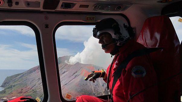 Sorge vor erneutem Vulkanausbruch auf White Island