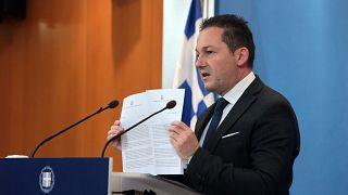 Ο υφυπουργός παρά τω πρωθυπουργώ και κυβερνητικός εκπρόσωπος, Στέλιος Πέτσας