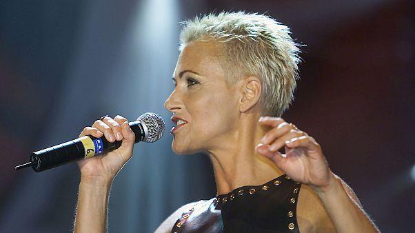 Marie Fredriksson egy 2001-es Roxette koncerten