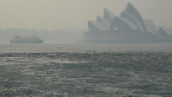 شاهد: تدهور نوعية الهواء في شرق أستراليا بسبب حرائق الغابات
