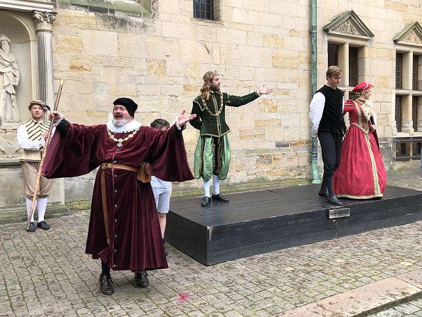 Bahtiyar Küçük, Kronborg Kalesi, Danimarka