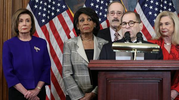 House Democrats announce articles of impeachment against President Trump