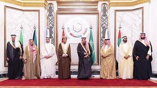 Körfez İşbirliği Konseyi'nin üye ülkelerinin liderleri