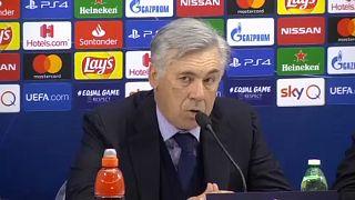 Bajnokok Ligája: meglett a továbbjutás a Napolinak, mégis kirúgták Ancelottit