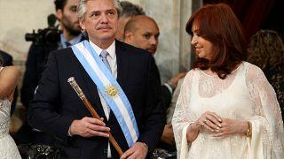 Argentine : investiture d'Alberto Fernandez