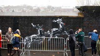 Birmingham: Aufregung um neues Banksy-Graffiti