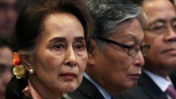 Myanmarlı Müslümanların 'soykırım' davasında Suu Kyi suçlamaları dinledi