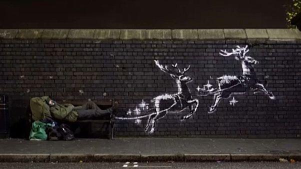 Banksy a hajléktalanok hányattatásairól
