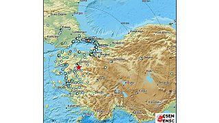 Σεισμικές δονήσεις στην Τουρκία