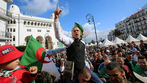 Algerians have been protesting against the upcoming elections
