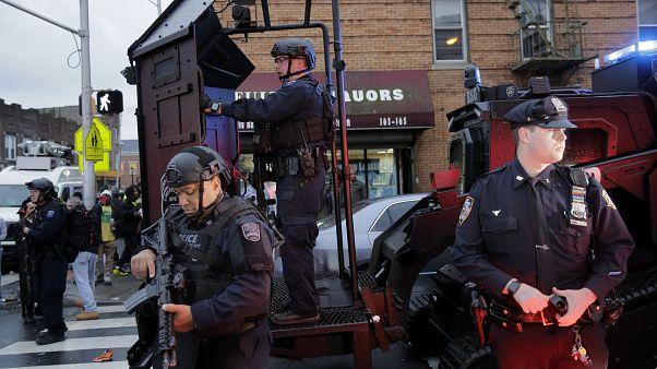 ABD'nin New Jersey eyaletindeki silahlı saldırganlara polis müdahale etti