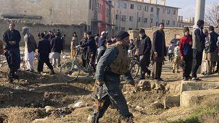 Afgan güvenik güçleri, Bagram Havva Üssü'nü hedef alan intihar saldırısına müdahale etti