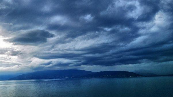 Καταιγίδα στην περιοχή του Ναυπλίου