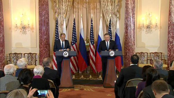Лавров в Вашингтоне: кризис в Сирии и на Украине - темы для дискуссий
