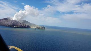 Prudence, le volcan de White Island peut encore entrer en éruption