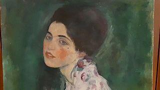 """Ritrovato il Klimt """"Ritratto di signora"""" rubato nel 1997"""