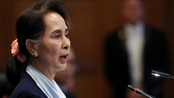 Myanmar lideri Aung San Suu Kyi, Uluslararası Adalet Divanı'nda ülkesine yönelik açılan soykırım suçlamalarına cevap verdi
