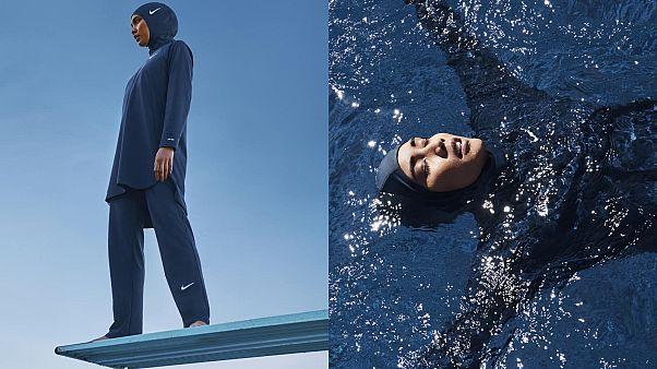 نايكي تطلق ملابس سباحة وحجاب كامل لتلبية احتياجات السباحات المحجبات