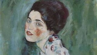 Bir Hanımefendinin Portresi - Gustav Klimt