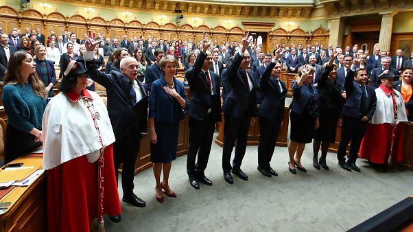 Faute de soutien, les Verts ne parviennent pas à entrer au gouvernement suisse
