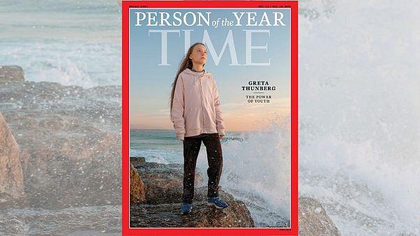 گرتا تونبرگ، نوجوان فعال محیط زیست شخصیت سال مجله تایم شد
