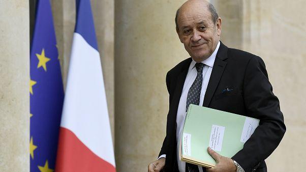وزير الخارجية الفرنسية جان-إيف لو دريان