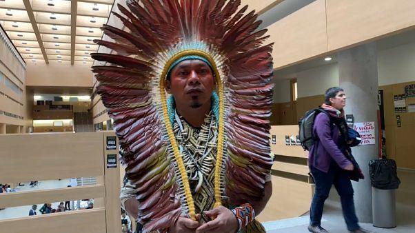 Ninawa, residente de la Amazonia brazileña