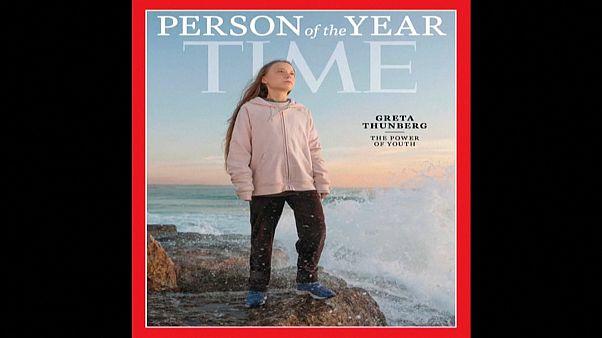 "Грета Тунберг - ""Человек года"" по версии Time"