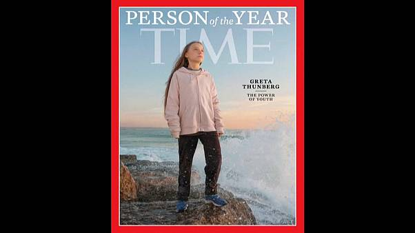 "Greta Thunberg personalidade do ano da ""Time"""
