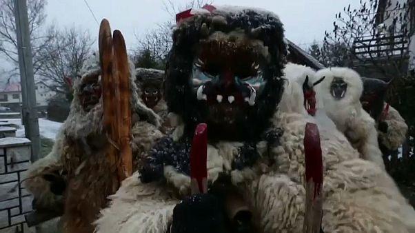 Os demónios do Natal chegam à República Checa