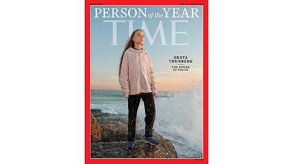 """مجلة """"تايم الأمريكية"""" تختار الناشطة من أجل المناخ غريتا تونبرغ شخصية العام 2019"""