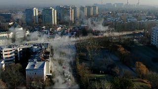 Warschau: Wasserleitung geplatzt