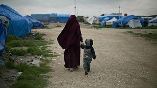 اردوگاه اسرای داعش در شمال سوریه