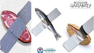 Pastırma, hamsi, Antep fıstığı ve badem... Türkiye'deki belediyelerden 'bantlı muza' gönderme