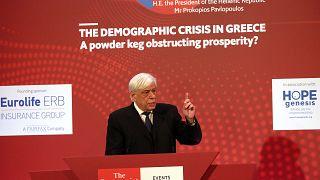 Προκόπης Παυλόπουλος: Εθνικό Πρόβλημα το Δημογραφικό στην Ελλάδα
