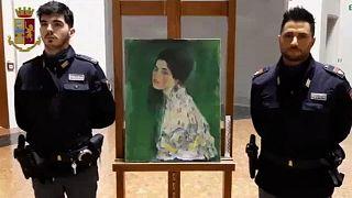 Un cuadro de Klimt estuvo dos décadas robado sin salir del museo