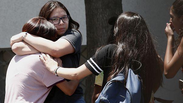 Familiares de los pasajeros del avión militar chileno desaparecido