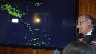 Encontrados destroços do avião chileno desaparecido