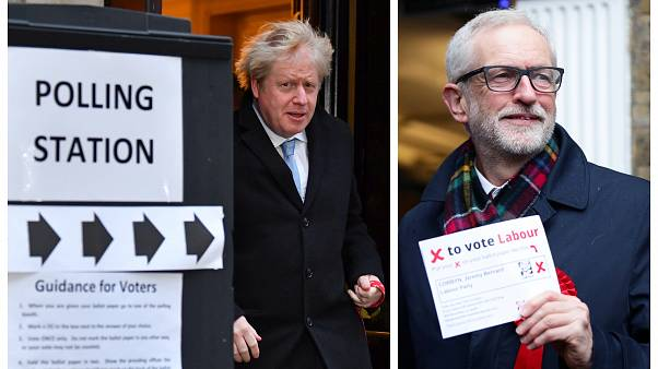 Großbritannien wählt: Zitterpartie für Johnson und seinen Brexitkurs