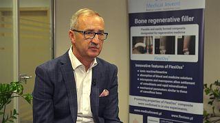 Knochenersatzmaterial ohne tierische Inhaltsstoffe