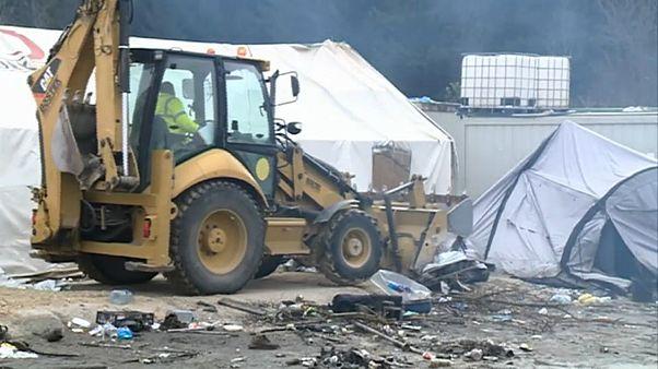 Encerrado campo de refugiados de Vucjak